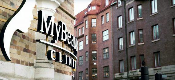 MyBeauty Clinic utanför klinik