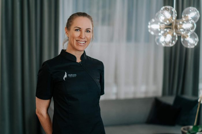 Therese Bellini på MyBeauty Clinic Engelbrektsgatan Göteborg